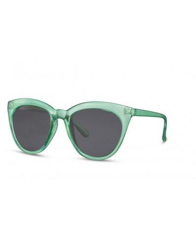 occhiali-da-sole-plastica-montatura-verde-trasparente-lenti-nere-forma-gatto-old-skull-seregno