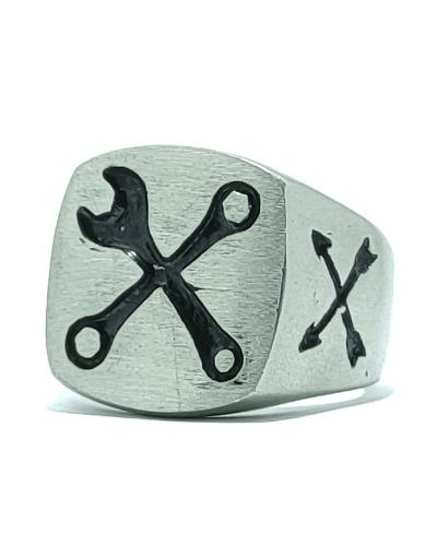 anello-meccanico-acciaio-chirurgico-316l-old-skull-seregno-monza-e-brianza