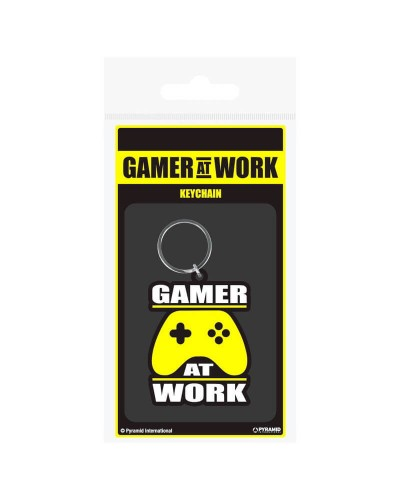 Gaming-Gamer-at-Work-portachiavi-in-gomma-old-skull-seregno