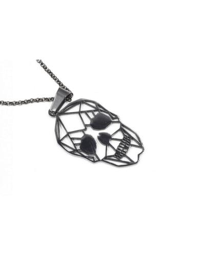 collana-teschio-pendente-nero-acciaio-old-skull-seregno-monza-brianza