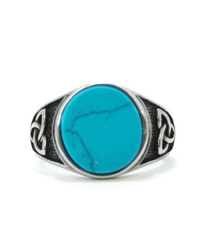 anello-gemma-azzurra-triquetra-acciaio-316l-old-skull-seregno-monza-brianza-simbolo-celtico-vichingo-norreno-nordico