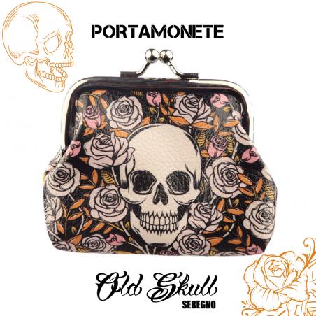portamonete-puckator-teschio-con-rose-nero-old-skull-seregno